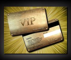 金属铜?#30690;?#21830;务VIP卡设计