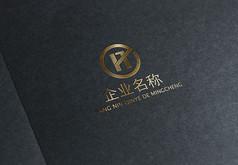 金色金融企业logo