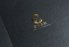 金色商�Q公司logo