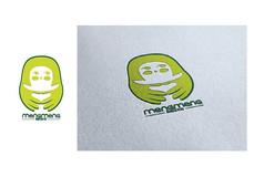 绿色萌萌幼儿园logo