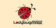紅色瓢蟲爬行LOGO