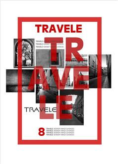 时尚创意旅游主题海报