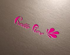 粉色唯美美容女性活泼logo