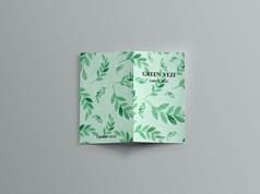 绿羽小清新封面设计