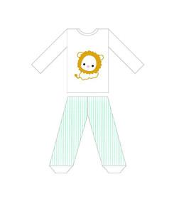 可爱小狮子童装印花服装设计