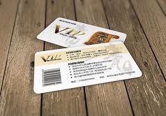白色背景书店VIP会员书法水印