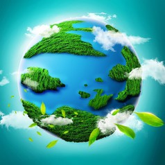 原创元素-地球原创分层