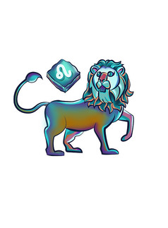 原创元素12星座狮子座