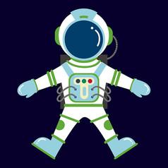 原创元素太空宇航员