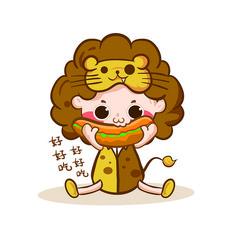 星座素材元素-狮子座
