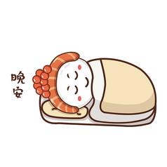 寿司吉祥物造型