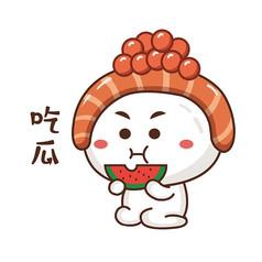 寿司卡通图片