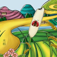 原��元素-水稻�鼍�D