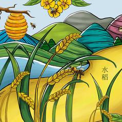 水稻原���鼍霸�素