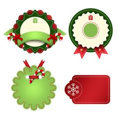 原创清新圣诞标签