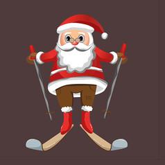 圣诞老人原创表情设计
