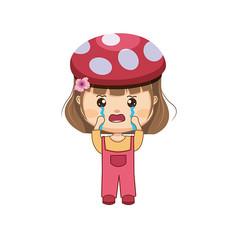 哭泣的小女孩�D片