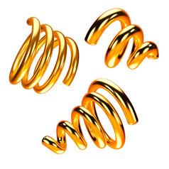 双十一促销黄金元素