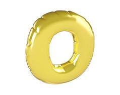 原创元素圣诞节促销气球字O