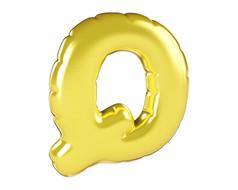 原创元素圣诞节促销气球字Q