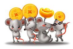 原��一群小老鼠