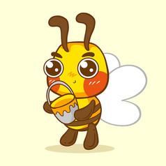 原��元素大眼萌蜜蜂