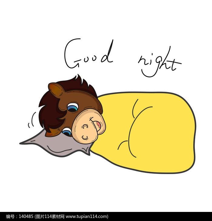 睡�X的卡通�R