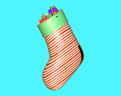 原创元素圣诞袜