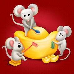 原��鼠年3鼠刷金��