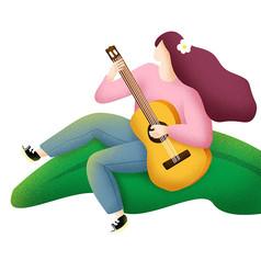 原��清新女孩��吉他
