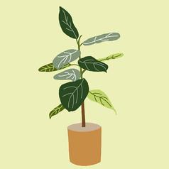 手�L植物插��素材