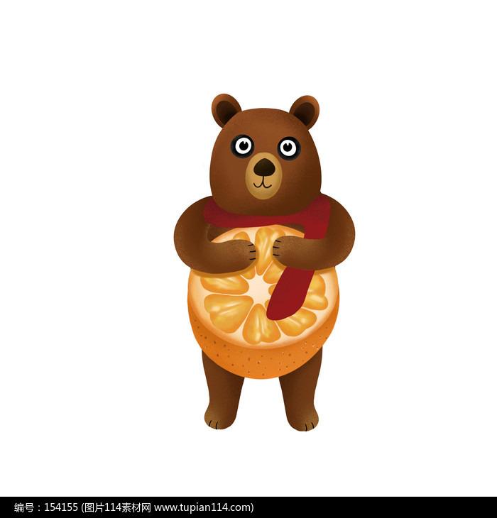 原��橙子小熊