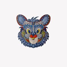 原创十二生肖鼠插画