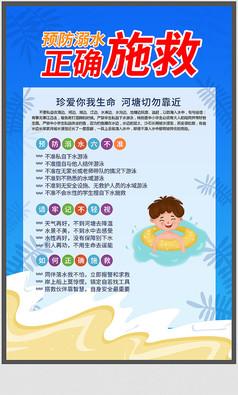 溺水施救海报